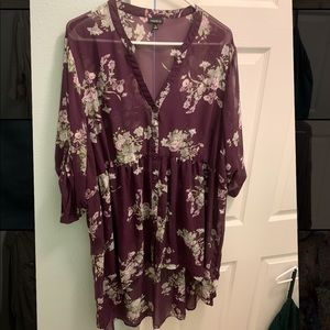 Torrid size 3 high- low blouse